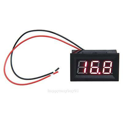0.56inch LCD DC 3.2-30V Red LED Panel Meter Digital Voltmeter with Two-wire H1