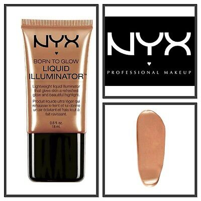 NYX Born to Glow Liquid illuminator-Face Highlighter-Bronzer L104 Sun Goddess