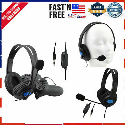 Gaming Headset Audifonos Gamer con Microfono PS4 Xbox PC Nintendo Switch 35mm