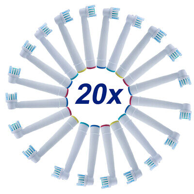 20x Fit For Braun Oral B Precision Clean Electric TOOTHBRUSH HEADS EB17 High End