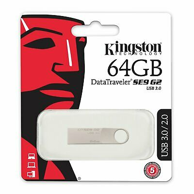 KINGSTON Clé USB 64 go USB 3.0 100% ORIGINAL 64 GB FLASH DRIVE