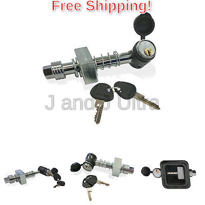 Let/'s Go Aero NEW SHP2040 Keyless Press-on Locking Silent Hitch Pin for 2in...