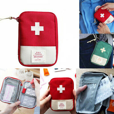 Climbing Bags Small Medical Bags Portable Camping Transparent Waterproof Survival Medical Storage Bag First Aid Kit 17x7x12cm Hiking Supplies