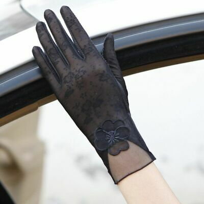 Spring Summer Women Gloves Short UV-proof Gloves Driving Touch Screen Breathable