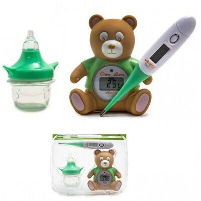 Infant & Baby Health & Safety Kit Fever Scan Room Thermometer Nasal Decongester
