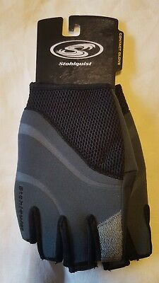 Stohlquist Contact Paddling gloves Fingerless, Small. Paddling, Free Ship!