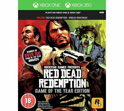 Red Dead Redemption GOTY - XBOX 360 + XBOX ONE * IMPORT neuf sous blister