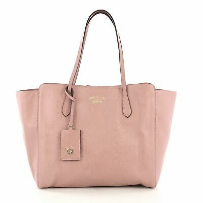 cfd0ef02ffcd GUCCI SWING TOTE Leather Small - $570.00 | PicClick