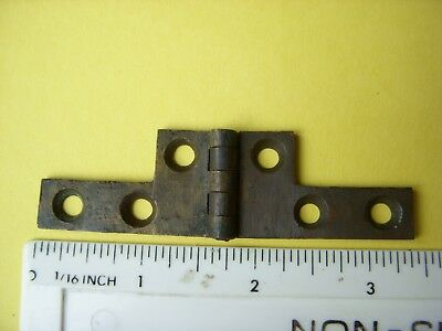 Antique Brass Hinge Writing Slope/Box  Restoration Antique Restoration