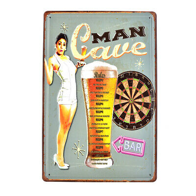 MAN CAVE CAVE TO CAVE POSTER 24x36 SHRINK WRAPPED FUNNY BAR GARAGE 241175