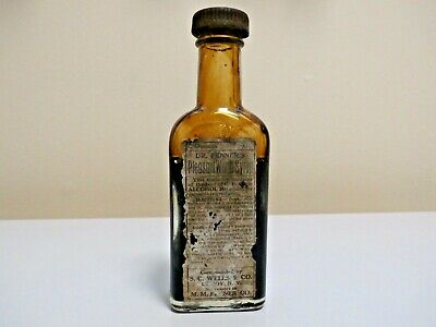 Dr.fenner's Pleasant Worm Syrup With Contents And Label-L@@K!