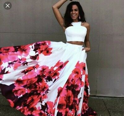 709569bfe58 JOVANI 34028 PROM Dress Floral Two Piece -  210.00