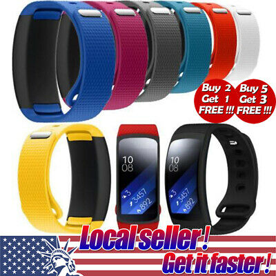 US Silicone Replacement Wrist Watch Band Strap For Samsung Gear Fit 2 SM-R360 se