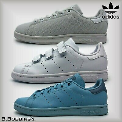 finest selection 08815 df621 Adidas STAN SMITH Junior Trainers Size UK 3 3.5 4 4.5 5 5.5 6 Girls Boys