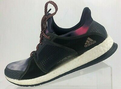 33c02320f Adidas Pure Boost X Running Shoes Multicolored Training Sneakers Womens US  9.5