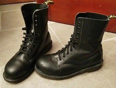 85c6e08ad9b VTG 90S DR. Martens 1919 Boot 10-eye Steel Toe Sz 8 US / 7 UK Made in  England
