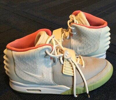 19b94317c PLATINUM WOLF GREY Nike Air Yeezy 2 II Size 11.5 100% Authentic ...