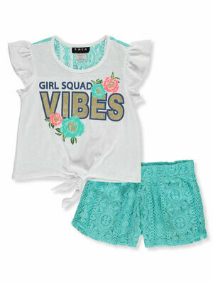 RMLA Girls' 2-Piece Shorts Set Outfit