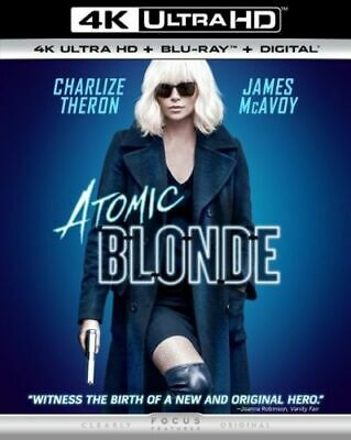 Atomic Blonde (4K Ultra HD + Blu-ray + Digital)