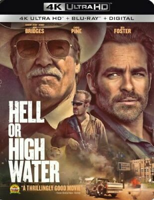 Hell or High Water [2016]  (4K Ultra HD + Blu-ray + Digital)