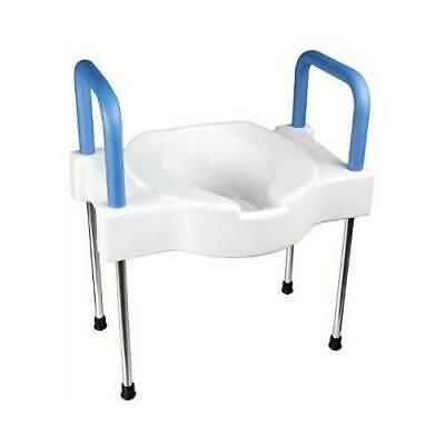 Maddak Extra Wide Tall-Ette Elevated Toilet Seat with Aluminum Legs