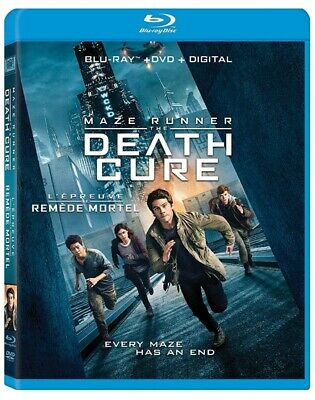 Maze Runner: The Death Cure (Bilingual) [Blu-ray + DVD + Digital Copy] *NEW**