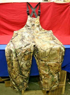 e2d9f904b3425 FIELD & STREAM Men's Realtree Camouflage Insulated Hunting Overalls ...