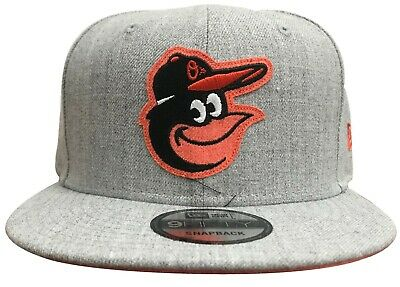pretty nice a8892 365f4 New Era MLB Baltimore Orioles Heather Hype 9FIFTY Snapback Heather Grey