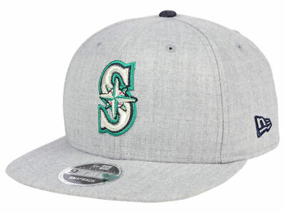 outlet store d9aa6 45ccf New Era MLB Seattle Mariners Heather Hype 9FIFTY Snapback Heather Grey