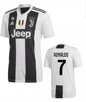 buy popular 4aea9 2cf90 NEW ADIDAS JUVENTUS Ronaldo Soccer jersey #7 Jeep Series Size Large nwt