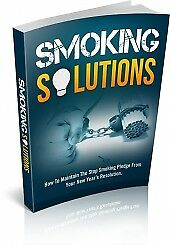 SMOKING SOLUTIONS pdf ebook+MRR+Free Shipping​​ ebook