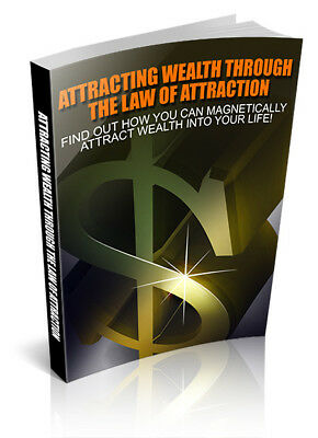 Attracting Wealth Through The Law Of Attraction Free  ebook MRR
