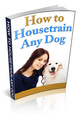 How To Housetrain Any Dog pdf  ebook MRR Free Shipping