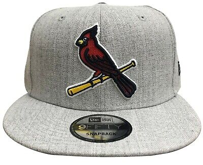 reputable site 8a10b 8254f New Era MLB St. Louis Cardinals Heather Hype 9FIFTY Snapback Heather Grey