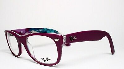 bcd3637554b New Ray-Ban Rb 5184 5408 Purple Authentic Eyeglasses Frame Rx Rb5184 50-18