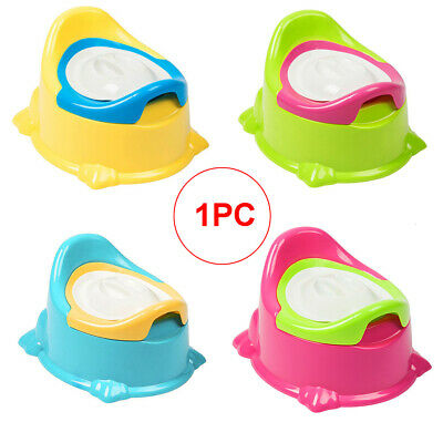 Child Toddler Potty Training Seat Baby Kid Fun Toilet Trainer Chair 4 Colors