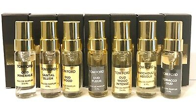 Tom Ford Perfume Colonia Fragancia Bolsillo Monedero Spray Vial / Mini ~