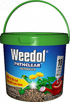 Weedol Ultra Tough Weed Killer Liquid Concentrate (18 Tubes)