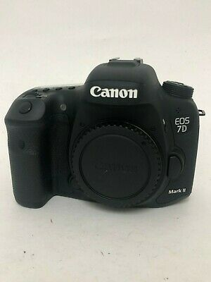 Canon EOS 7D Mark II Digital SLR Camera –No Charger – Used