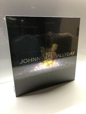 Johnny Hallyday - Tour 66  Stade De France 2009 - Coffret Collector Neuf