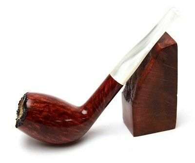 Briar Pipe For Smoking Tobacco Hand Carved Personalized Wooden Gift For Smoker