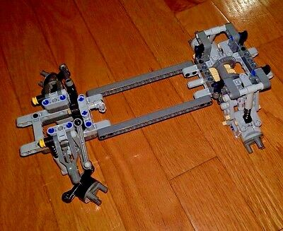LEGO Technic Chassis + Front Steering + Rear Differential Suspension - new parts