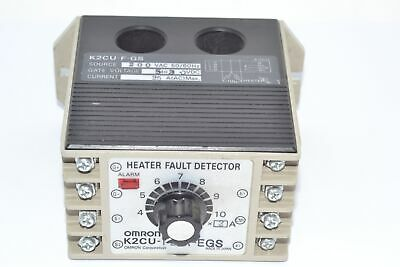 Omron K2CU-F20A-EGS DETECT HEATER ELEMENT 200V CHAS	Fault Detector