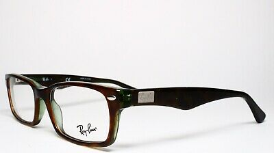 c5688bc1c917a New Ray-Ban Rb 5206 2445 Havana Authentic Eyeglasses Frame Rx Rb5206 52-18