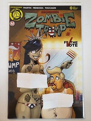 Action Lab VF Zombie Tramp #54 2018 to VF//NM Artist Risqué Variant