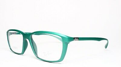 2cd9451a27690 New Ray-Ban Rb 7018 5252 Green Authentic Eyeglasses Frame Rx Rb7018 54-16