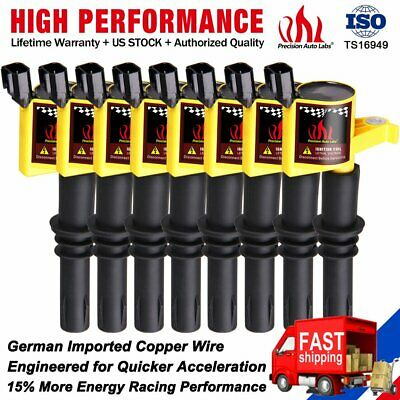 8 Ignition Coils Pack Plug For Ford F150 Expedition 4 6 5 4l