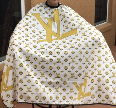 """Barber hair cutting and styling cape 55""""X60"""" Metal Clips"""