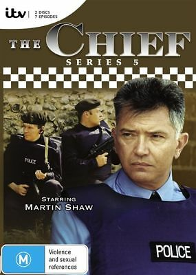 The Chief : Series 5 (DVD, 2-Disc Set) BRAND NEW SEALED