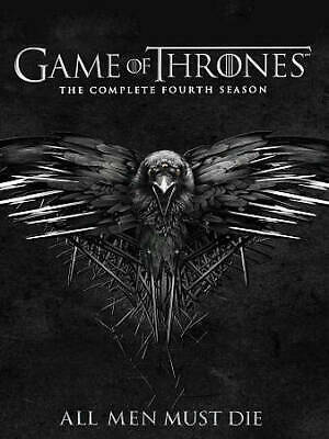 game of thrones seasons 4 ,5, 6 DVD 15 discs 30 episods 3 separate 5 discs sets